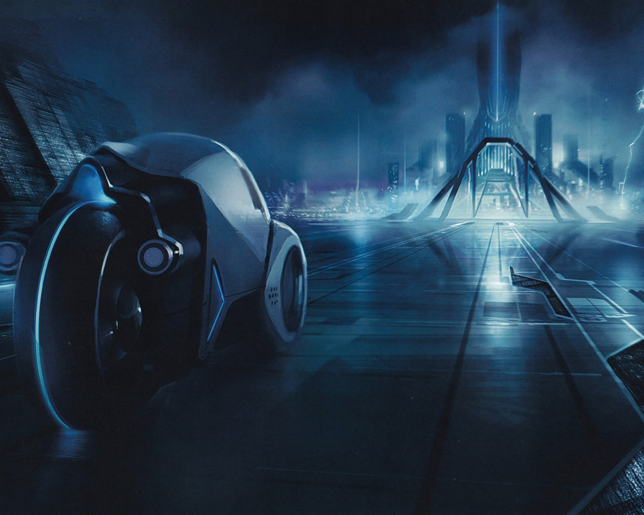 Tron Movie Scene