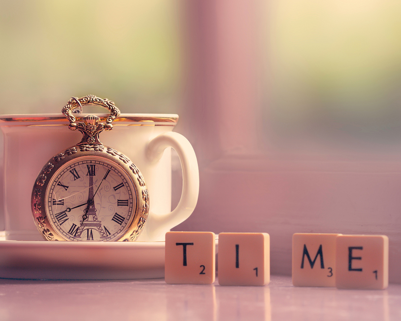 Pocket Watch and a Cup of Tea