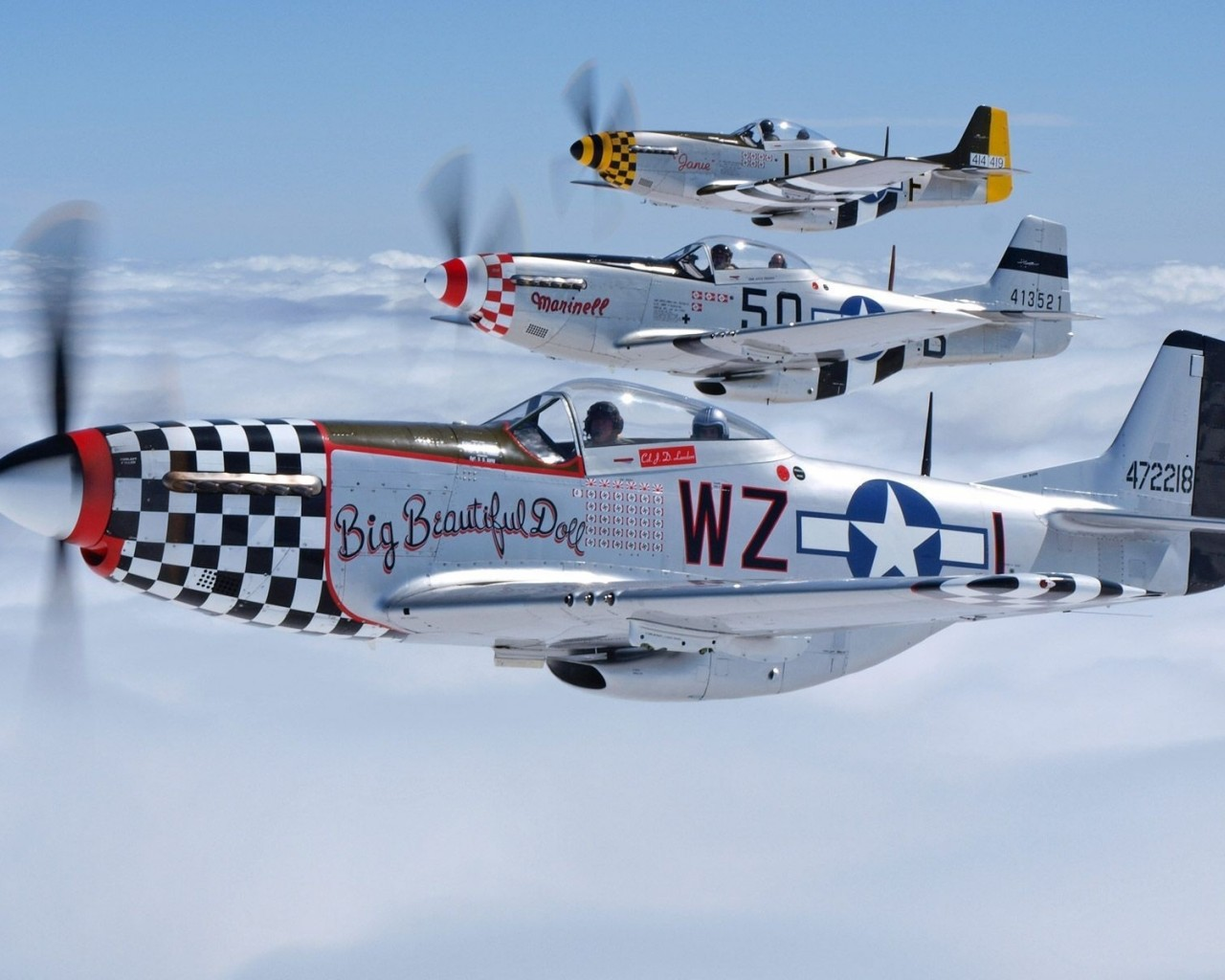 Mustang Planes
