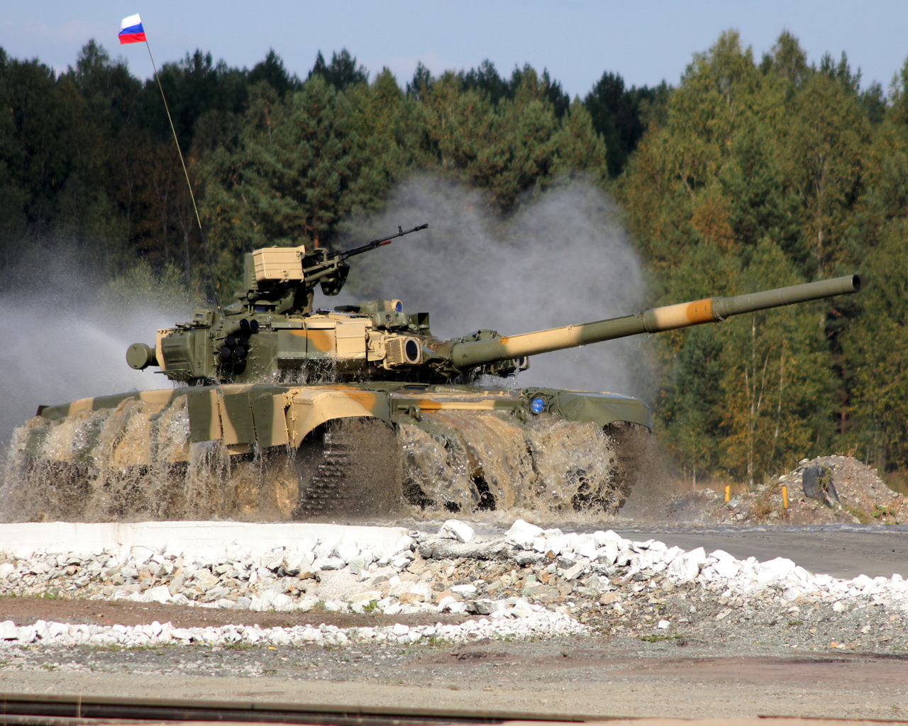 The ultimate Russian tank