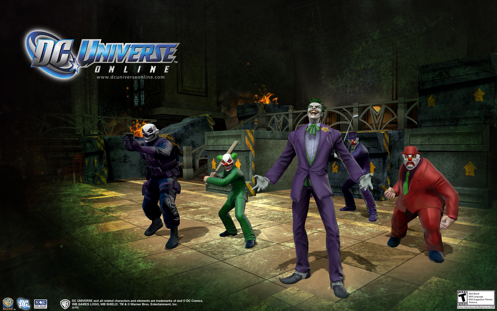 DC Universe players