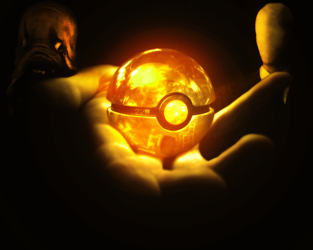 Orange Pokeball
