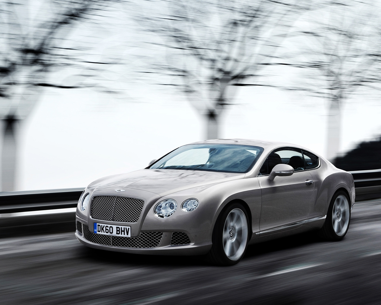 2011 Bentley Continental GT Grey