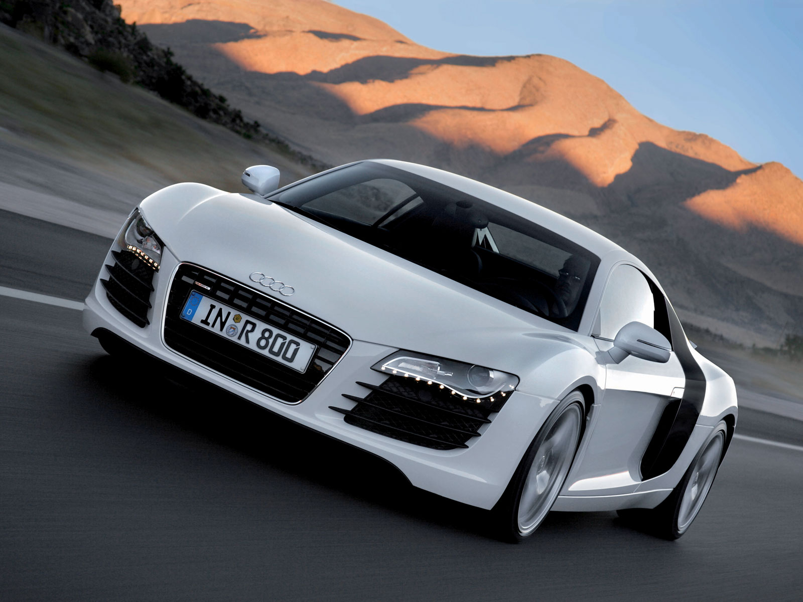 Audi R8 On The Road