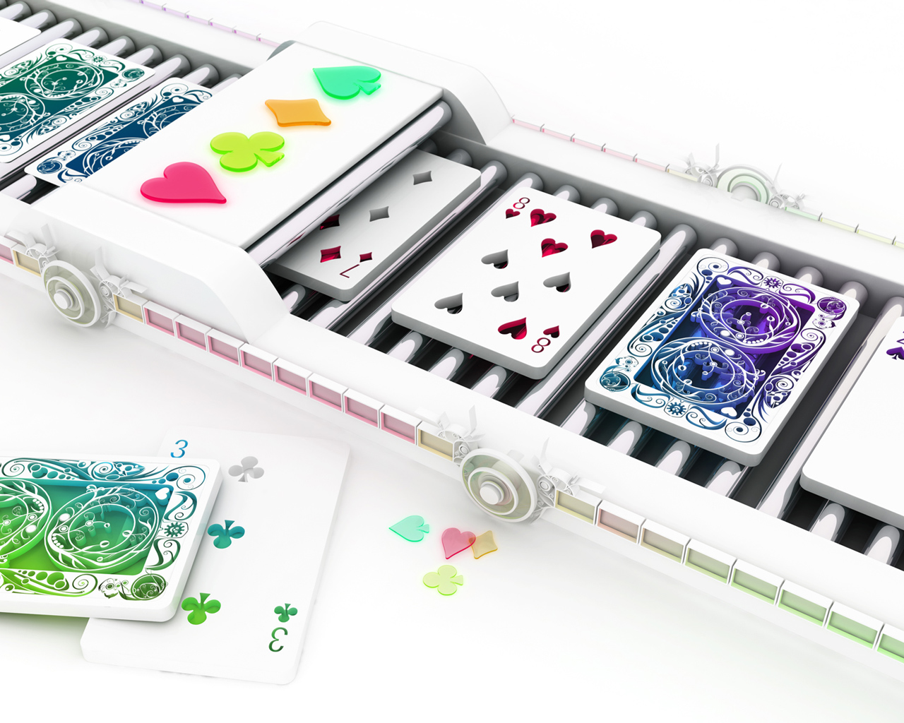 3D Playing Cards