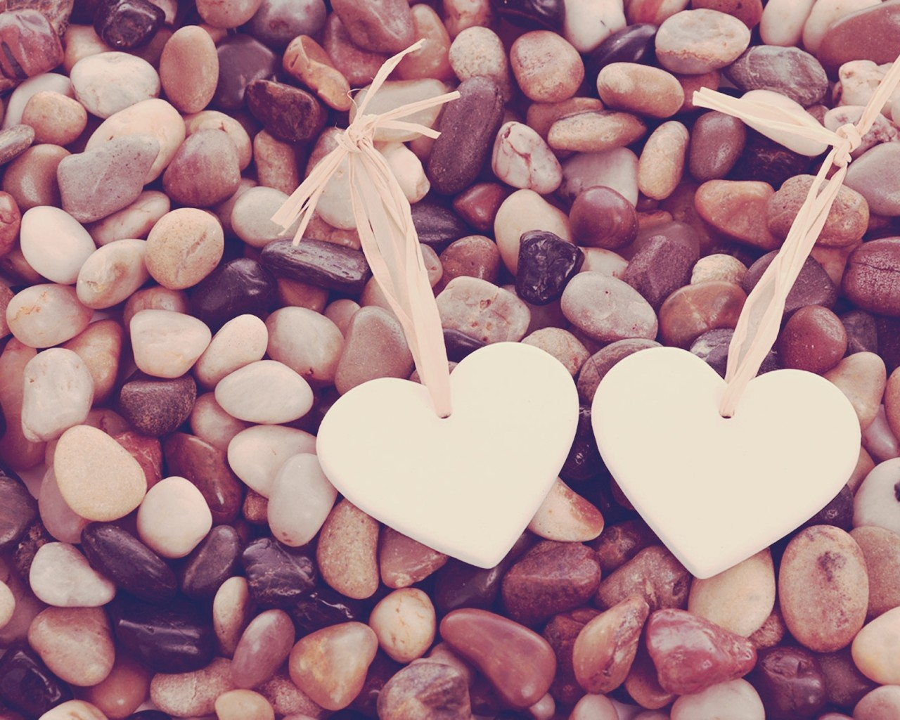 Hearts and Pebbles