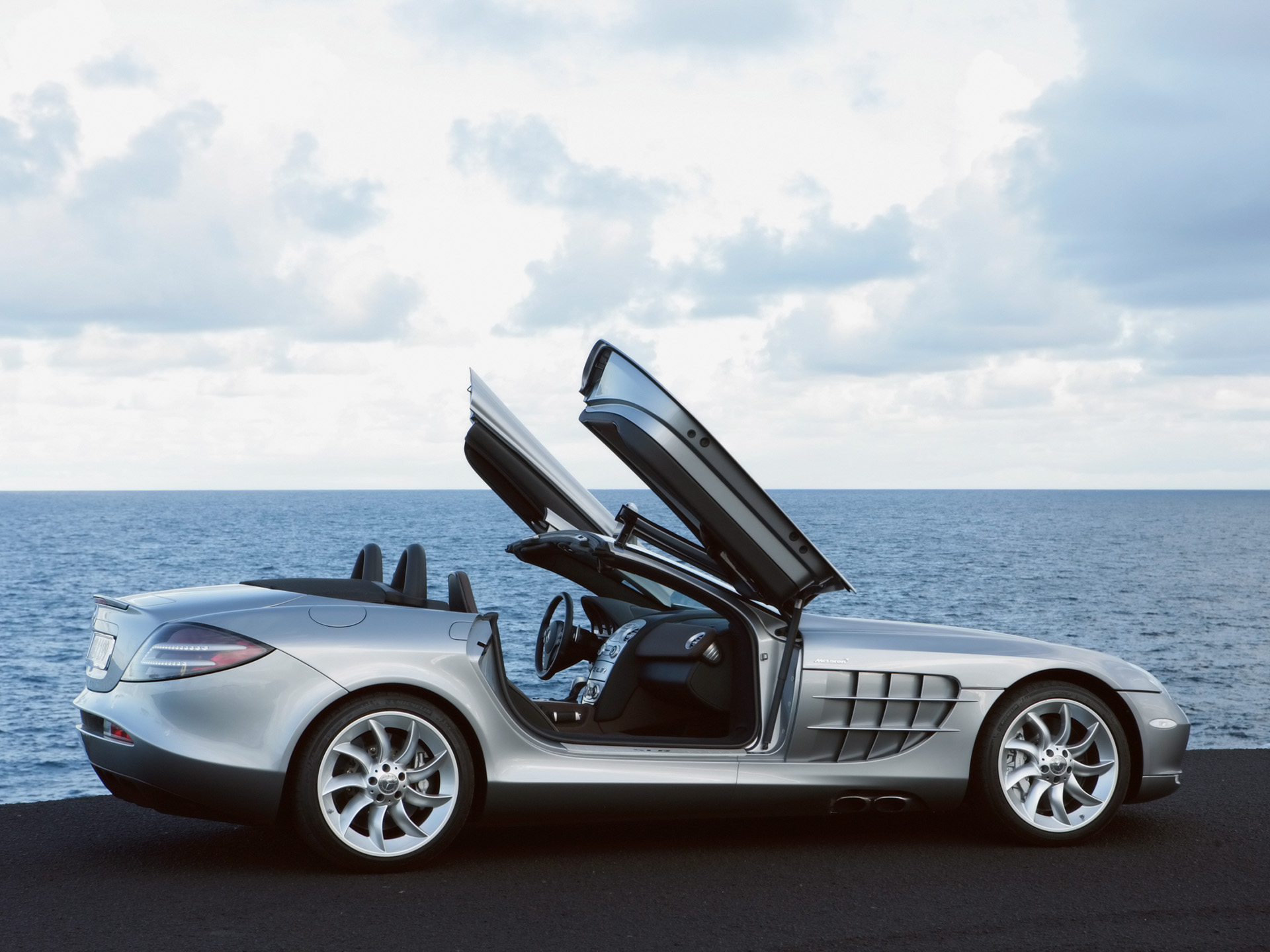 SLR Roadster 2008 Open Doors