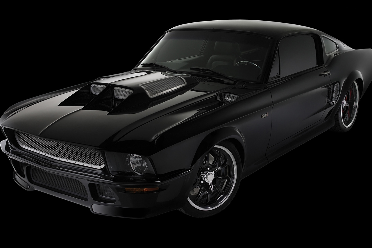 Obsidian Ford Mustang