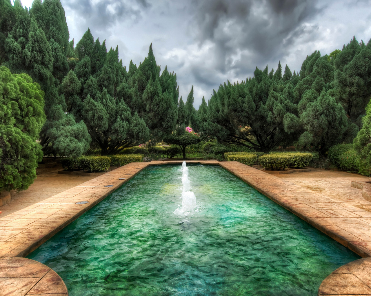HDR Mystic Fountain