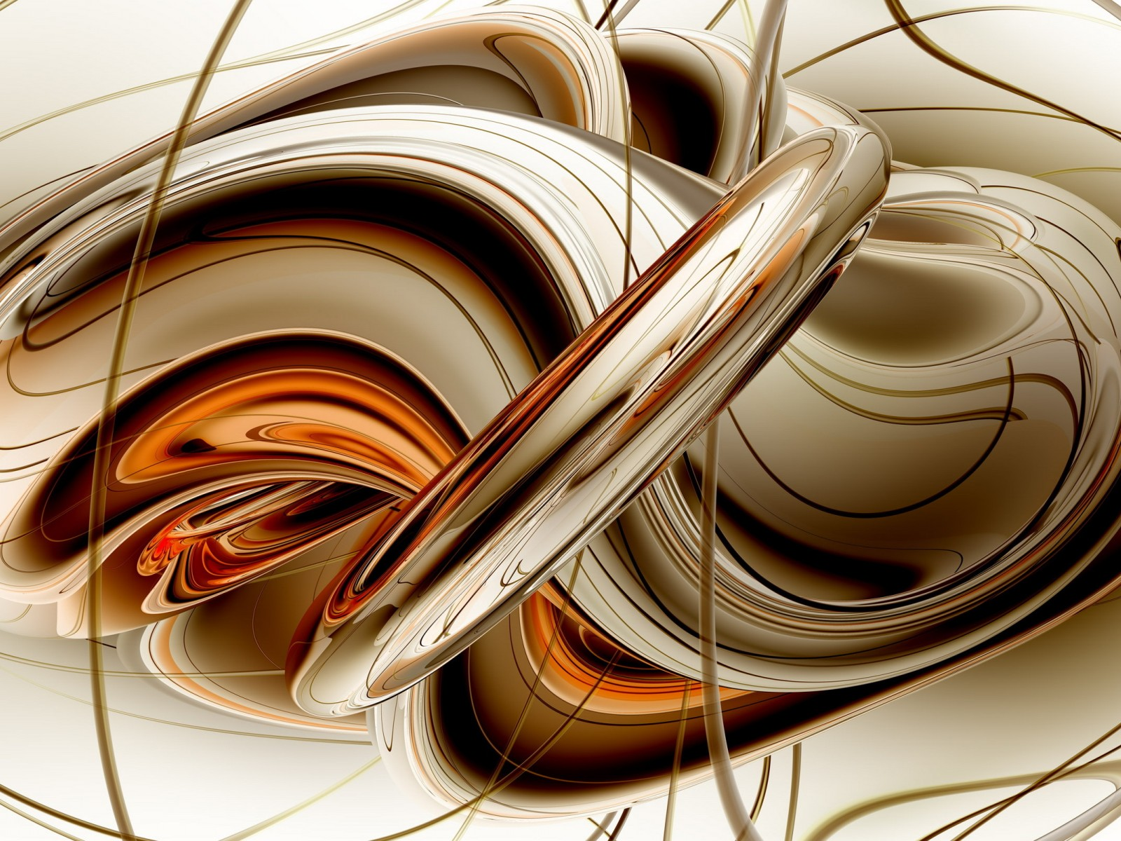Abstract Golden Lines