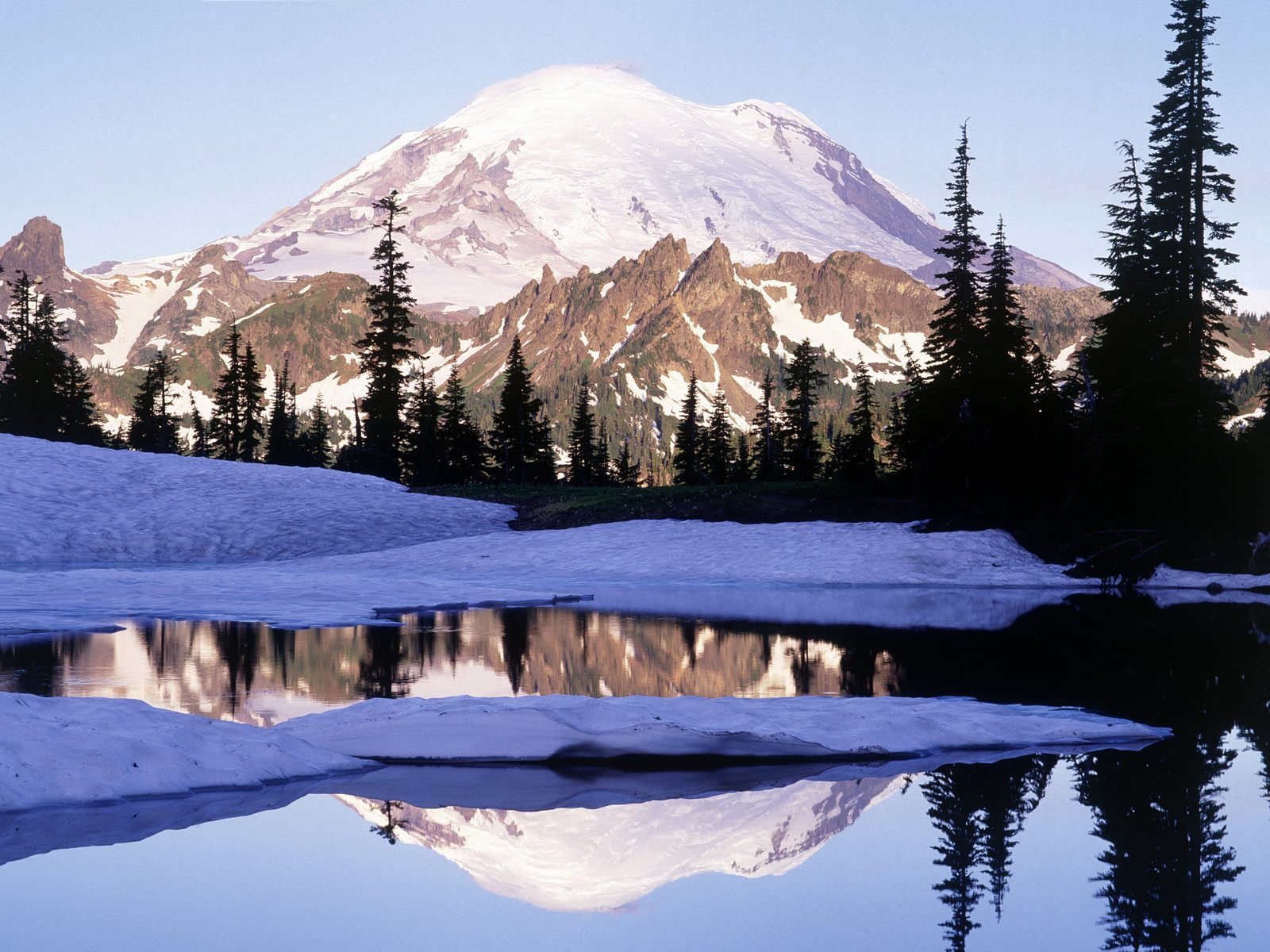 Cool Reflections in Tipsoo Lake
