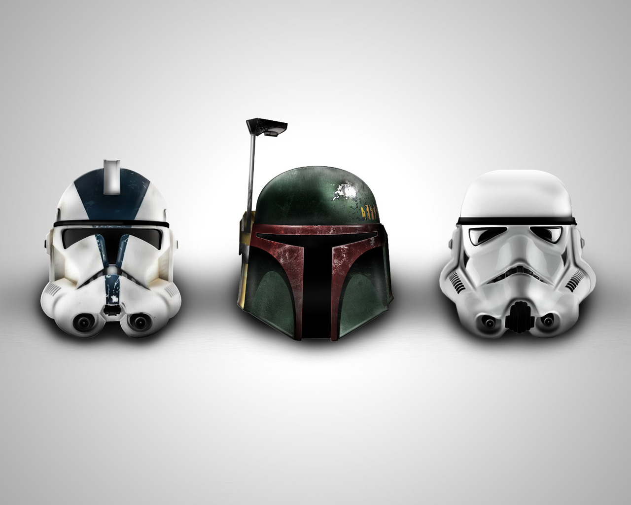 Star wars soldier heads