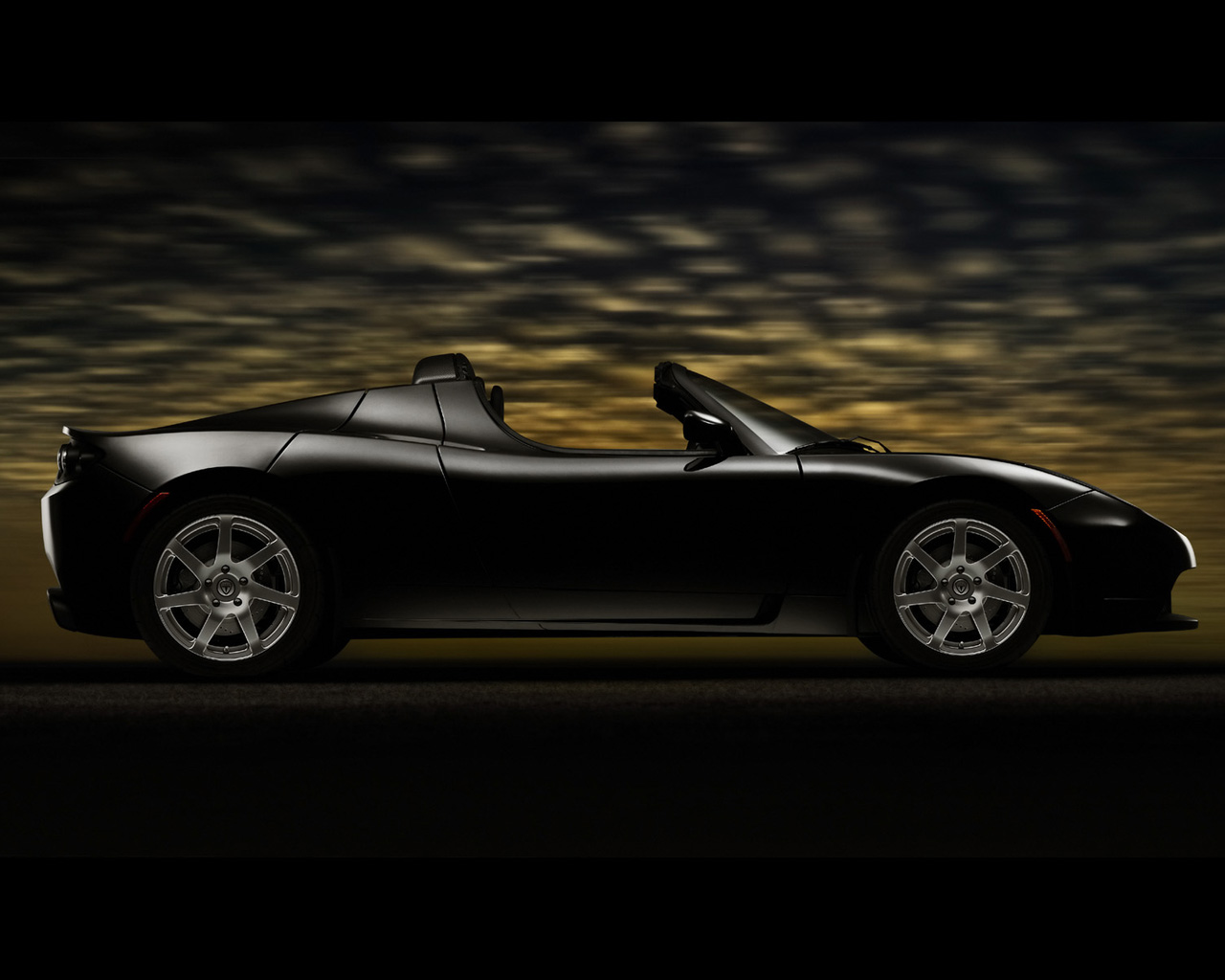 Tesla Roadster Black