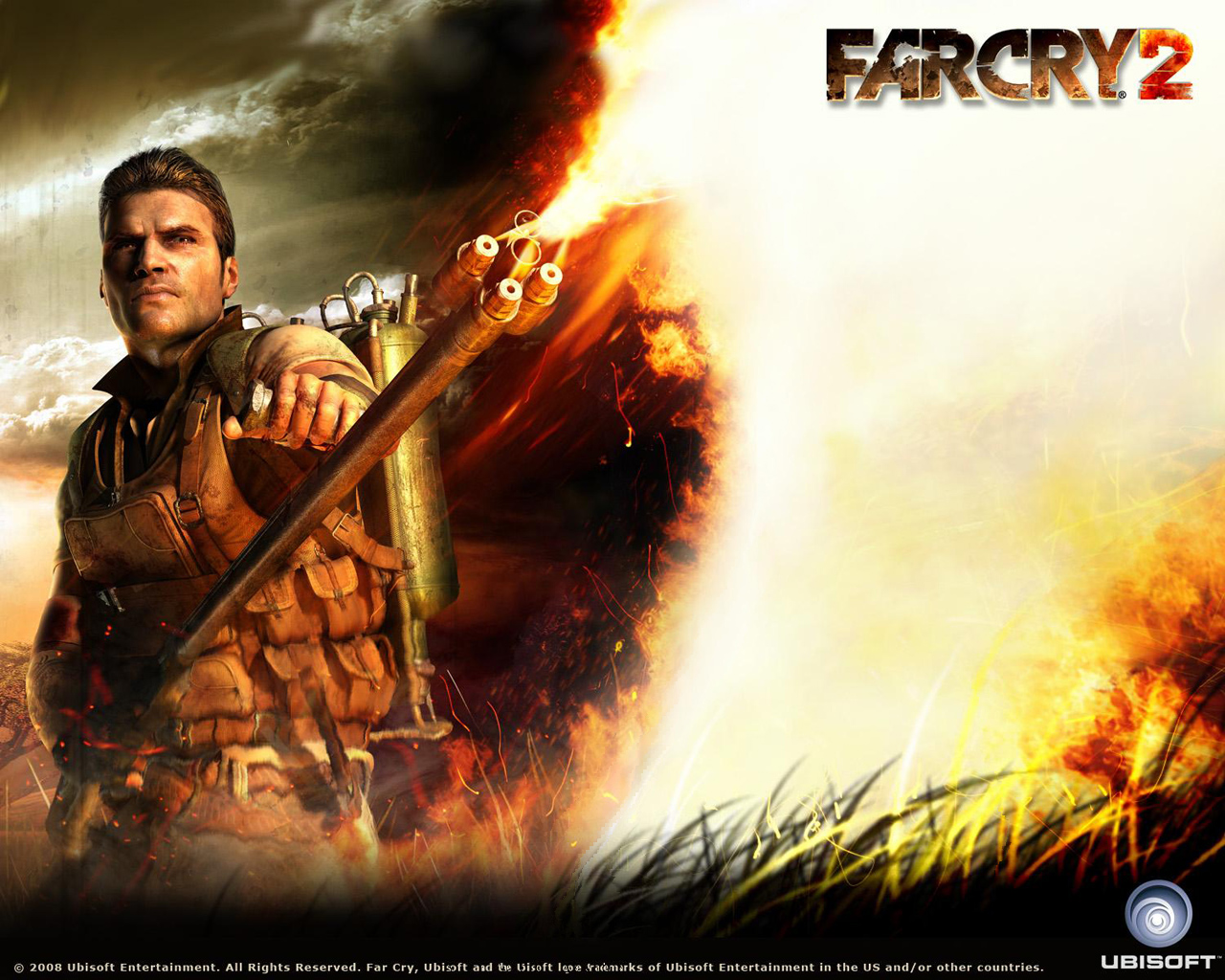 Far Cry 2 flamethrower