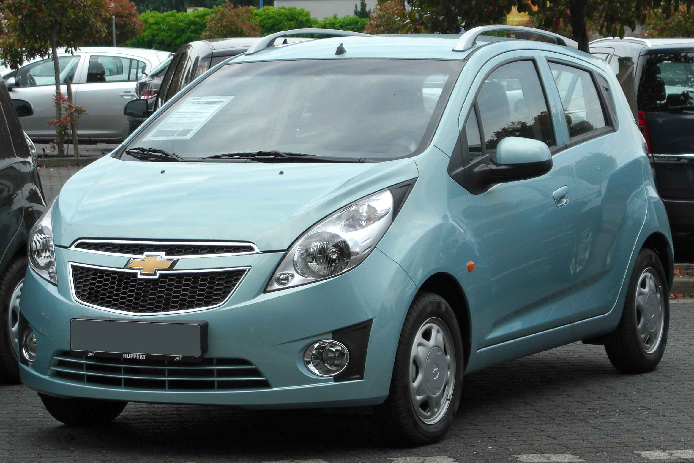 news a few chevrolet details spark emerge h more