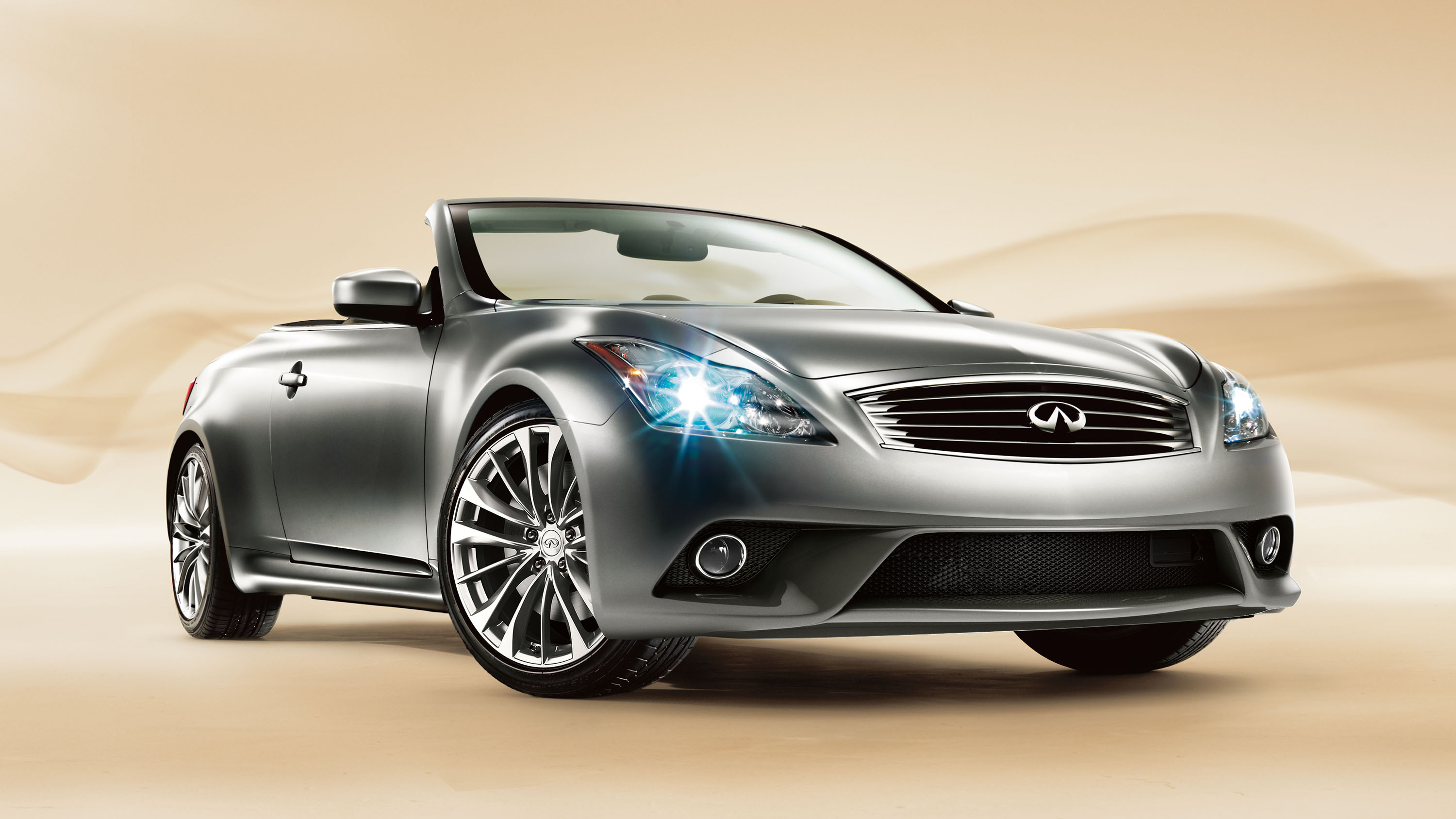 moonlight research large white sport convertible groovecar infiniti infinity composite