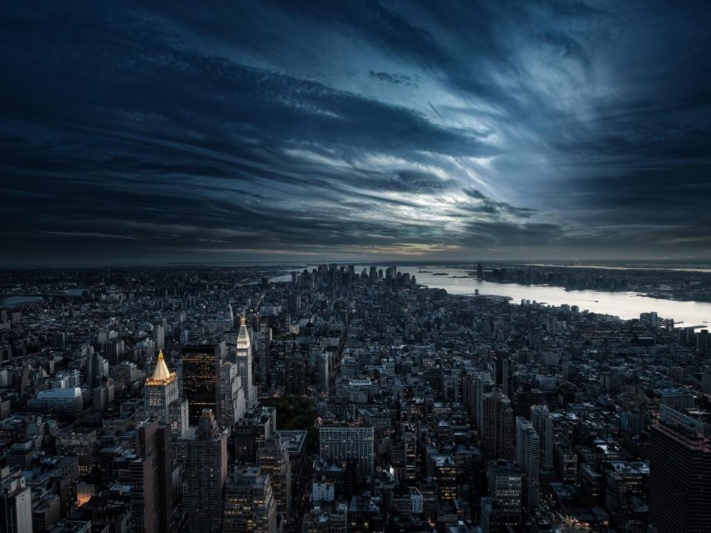 new york in hdr