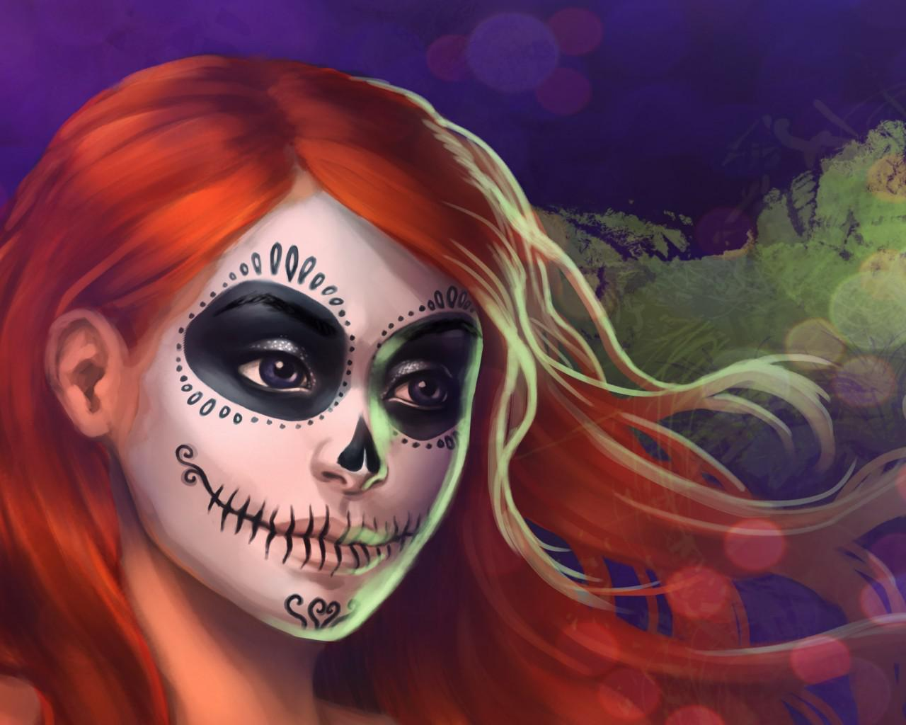 halloween face painting - Halloween Pictures To Paint