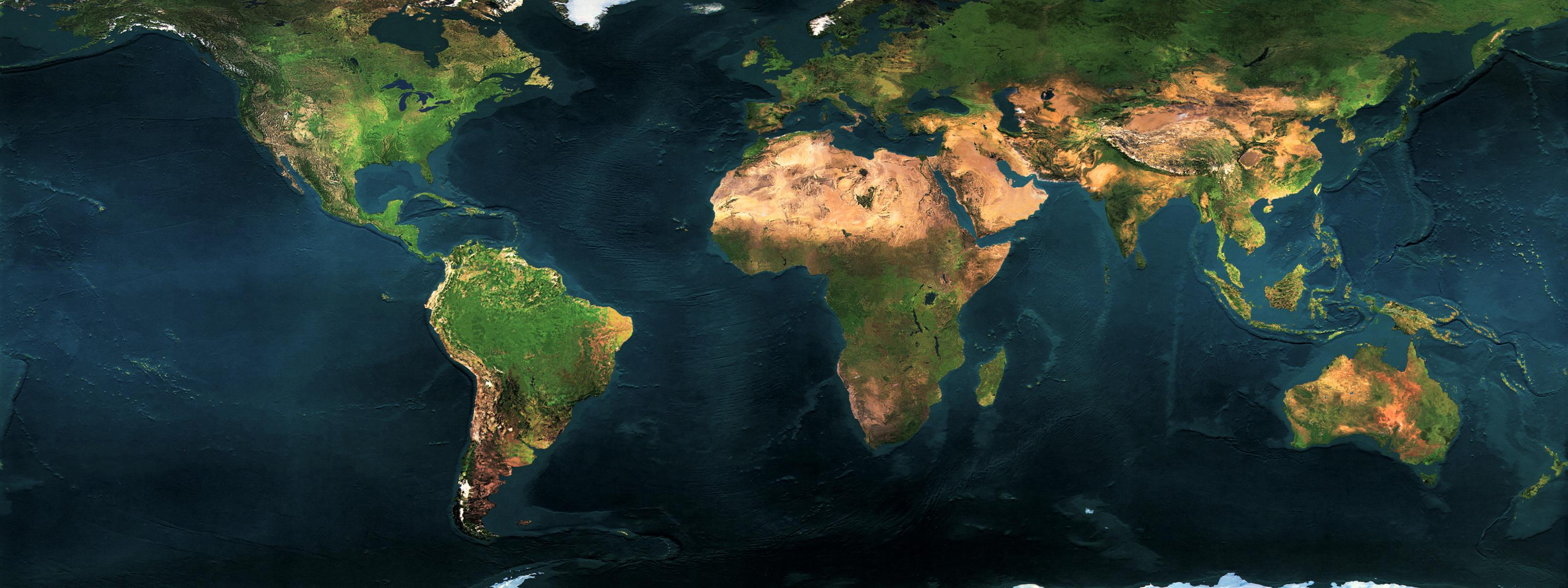 Earth map 3200x1200 view download gumiabroncs Choice Image